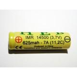 Μπαταρια HEB 14500 IMR - 625mah - 7A (11,2C)