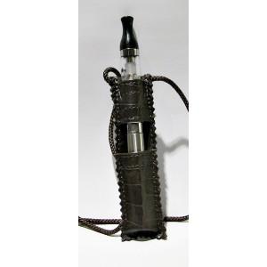 Κρεμαστη θήκη λαιμού για EGO 900-1100mah-- Δερμάτινη